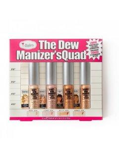 The Balm The Dew Manizer'Squad Mini Liquid Highlighters - Набор Мини Хайлайтеров