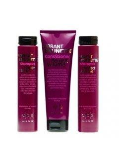 "Mades Cosmetics Vibrant Brunette Set - Набор по уходу за темными волосами ""Блеск и объем"""