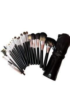 Brushes Set B20 Мейк Ап Ми - Набор кистей для макияжа в темно-коричневом чехле 20 шт
