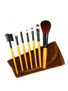 Brushes Home Set BRV7 Мейк Ап Ми - Домашний набор кистей в вельветовом чехле 7 шт