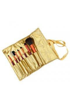 Brushes Set GOLD7 Мейк Ап Ми - Набор кистей 7 шт в золотистом чехле