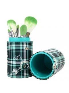 Brushes Set TUBE8-GR - Набор кистей 8 шт в зеленом тубусе