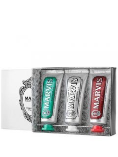 Marvis 3 Flavours Box - Набор с зубными пастами