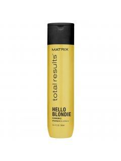 Total Results Hello Blondie Shampoo Матрикс - Шампунь с экстрактом ромашки для волос оттенка блонд