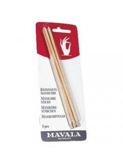 Manicure Sticks Мавала - Палочки для маникюра деревянные на блистере