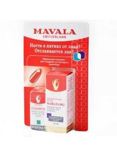 Set Мавала - Набор из двух средств: Защитная основа Мавала 002 + фиксатор Лака с акрилом Колорфикс