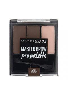 Master Brow Pro Kit - Набор теней для бровей, 3 цвета
