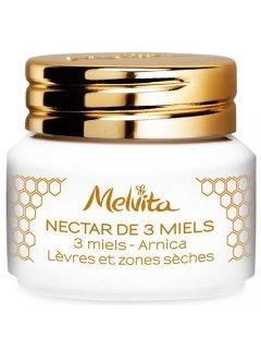 """Apicosma 3 Honeys Nectar Мельвита Апикосма - Бальзам для губ """"3 меда"""""""
