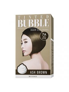Missha Tinted Bubble Hair Coloring - Краска-пенка, 40+65+8 мл