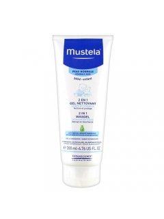 2 In 1 Cleansing gel Мустела - Очищающий гель для волос и тела