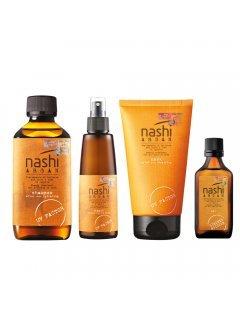 Nashi Argan Sun Line hair set Nashi loves beach - Набор средств для борьбы с негативным воздействием солнца на волосы