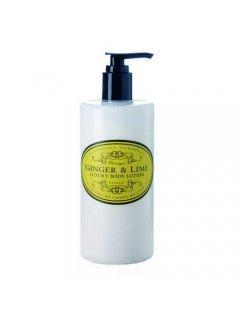 "Classic Luxury Body Lotion Ginger & lime Нейчарели Европен - Роскошный лосьон для тела ""Имбирь и лайм"""