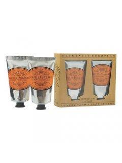 "Classic Luxury Hand And Foot Creams Neroli & Tangerine Нейчарели Европен - Набор: крем для рук и крем для ног ""Нероли и мандарин"""