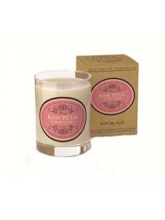 """Classic Luxury Candle Нейчарели Европен - Роскошная ароматическая свеча """"Лепестки роз"""""""