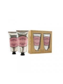 "Classic Luxury Hand And Foot Creams Rose Petal Нейчарели Европен - Набор: крем для рук и крем для ног ""Лепестки роз"""