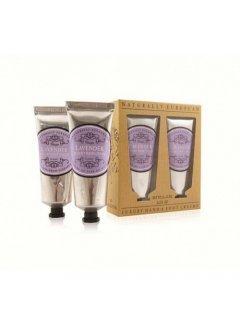 "Classic Luxury Hand And Foot Creams Lavender Нейчарели Европен - Набор: крем для рук и крем для ног ""Лаванда"""