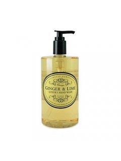 "Classic Luxury Hand Wash Ginger & Lime Нейчарели Европен - Роскошное жидкое мыло c изысканным ароматом ""Имбирь и лайм"""