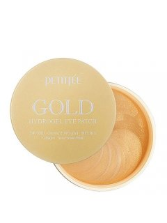 +5 Petitfee Gold Hydrogel Eye Patch Петитфи Голд Ай Патч - Гидрогелевые патчи для глаз с золотым комплексом