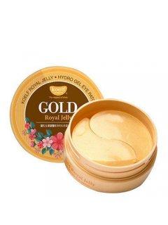 Gold & Royal Jelly Eye Patch Коэльф Голд Энд Роял Желли Ай Патч - Гидрогелевые патчи для глаз с золотом и маточным молочком