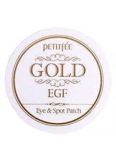 Premium Gold & EGF Eye & Spot Patch Петитфи Премиум Голд Ай Патч - Гидрогелевые патчи для глаз Premium с золотом и EGF
