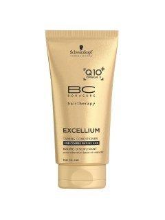 Bonacure Excellium Q10 Collagen Taming Conditioner Бонакур Экселиум - Кондиционер для сухих и ломких зрелых волос