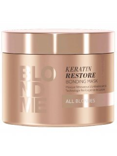 Blond Me Keratin Restore Bonding Mask Блонд Ми Бондинг - Бондинг-маска кератиновое восстановление