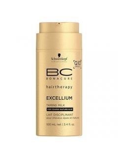Bonacure Excellium Q10 Collagen Taming Milk Бонакур Экселиум - Смягчающее молочко для зрелых жестких и окрашенных волос