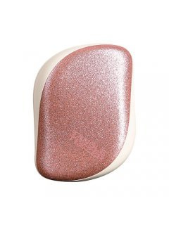 Tangle Teezer Compact Styler Glitter Rose Gold - Расчёска для волос компактная