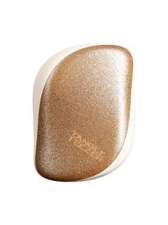 Tangle Teezer Compact Styler Glitter Gold - Расчёска для волос компактная