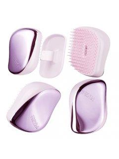 Tangle Teezer Compact Styler Lilac Gleam - Расческа для волос Блестящий сиреневый