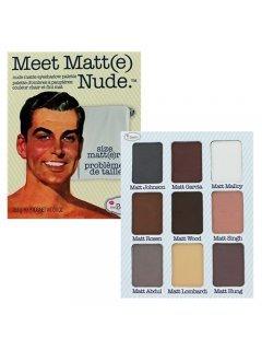 Meet Matte Nude Eyeshadow Palette Зе Балм Мит Матт Нюд - Палетка теней, 25,5 г