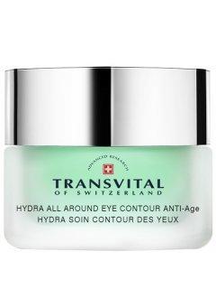 Transvital Hydra All Around Eye Cream Anti-Age - Увлажняющий антивозрастной крем для кожи контура глаз