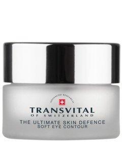 Transvital The Ultimate Skin Defense Soft Eye Contour - Антивозрастной крем для защиты чувствительной кожи вокруг глаз