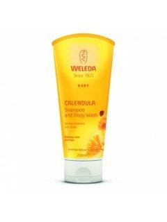 Calendula Baby Gel-Shampoo Веледа - Детский гель-шампунь с экстрактом календулы