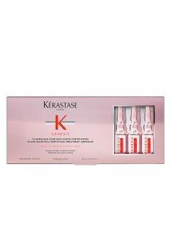 Kérastase Genesis Cure Anti-Chute Fortifiant  -  Укрепляющее средство с аминексилом в ампулах для ослабленных волос, склонных к выпадению.