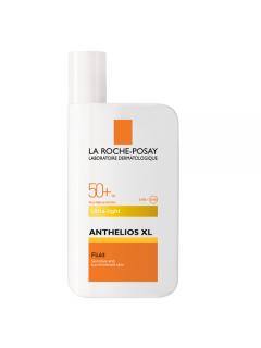 La Roche-Posay Anthelios Ultra Light Fluide Антгелиоc - Солнцезащитное средство для лица, степень защиты SPF 50+