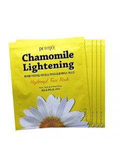 Petitfee & Koelf Chamomile Lightening Hydrogel Eye Mask - Гидрогелевые осветляющие патчи для глаз с экстрактом ромашки