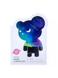 The Oozoo Bear Aurora Illuminating Mask -  Тканевая маска для сияния кожи лица